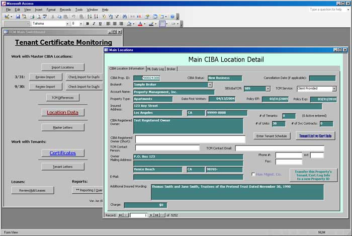 CIBA Insurance Services (ICM) screen shot 1